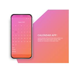08-phone-august-app vector