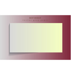 abstract background with white paper layers rgb vector image