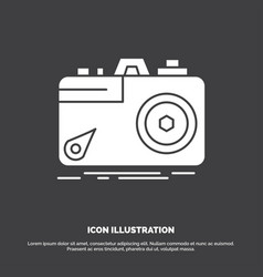 camera photography capture photo aperture icon vector image