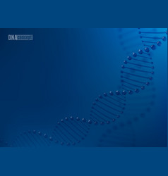 dna science technology background for vector image