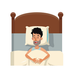 People resting design vector