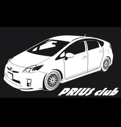 Prius club LOGO vector
