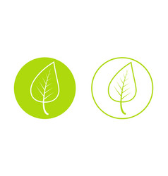 spring time year icon young growing green vector image