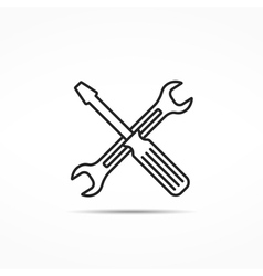 Tools Line Icon vector