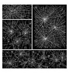 web background pattern set iii vector image vector image