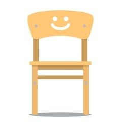 children chair vector image