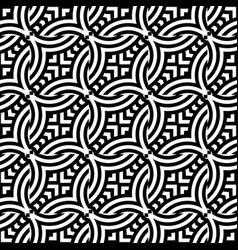 design seamless monochrome chain pattern vector image