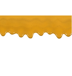 Dripping curry sauce vector