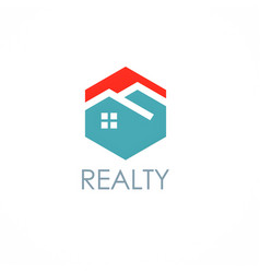 Home realty logo vector