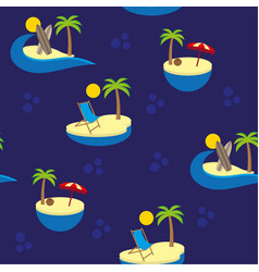 islands pattern vector image vector image