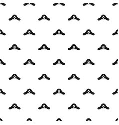 Pirate hat pattern vector