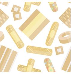 set of beige plaster pattern vector image