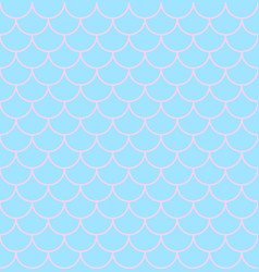 texture of scales on mermaid vector image