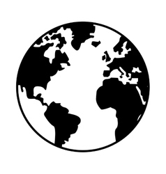 World map icon design royalty free vector image world map globe earth icon vector image publicscrutiny Image collections