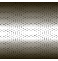 Seamless white and black pentagon background vector