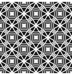 Monochrome seamless pattern Geometric simple vector image vector image
