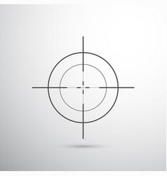 sniper target vector image