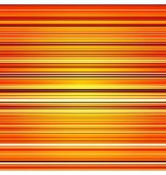 Abstract retro stripes orange color background vector image