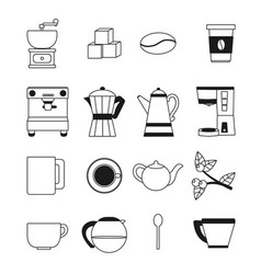 Coffee culture concept vector
