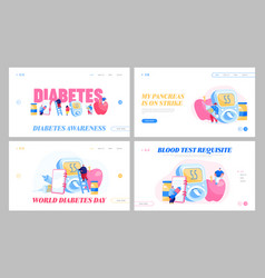 Diabetes sickness glucose testing meter insulin vector
