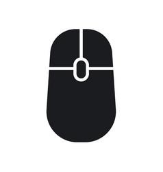 Digital computer mouse icon vector