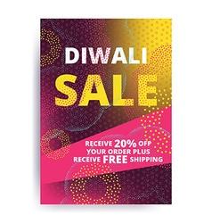 Diwali Big Sale vector image