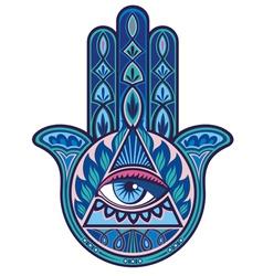 Hamsa hand vector