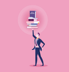 knowledge concept business vector image