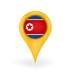 Location North Korea vector