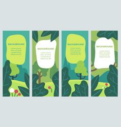 minimal summer backgrounds colorful design vector image