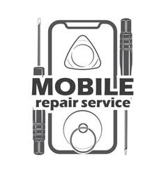 Mobile repair service 3 vector
