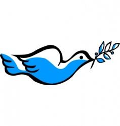 Peace dove vector