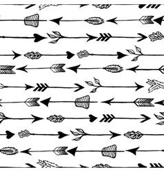 Rustic Arrows pattern vector
