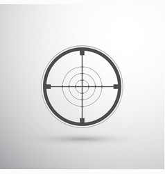 Sniper scope target vector