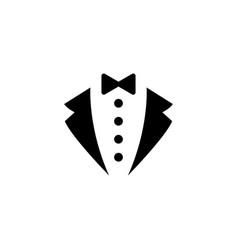 Tuxedo suit icon vector
