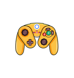 Wireless gamepad icon isolated digital gamepad vector