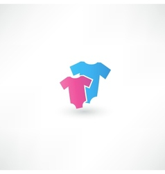 Childrens Wear Icon vector image vector image