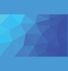 blue-purple triangle polygon vector image