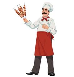 Happy chef - vector image