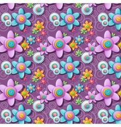 a seamless pattern buttons in shape of vector image
