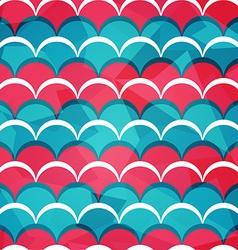 Abstract circle seamless pattern vector