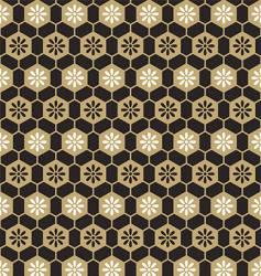 cells floral pattern vector image