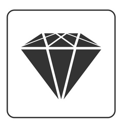 Diamond icon 1 vector