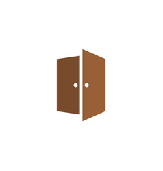 Door icon graphic design template isolated vector