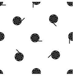 film pattern seamless black vector image