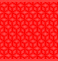 Red cubes pattern seamless background vector