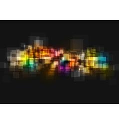 Shiny tech art background vector