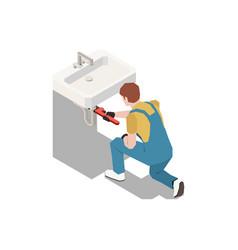 Sink syphon fix composition vector