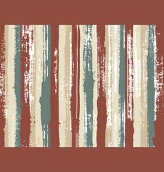 sloopy gouache vertical lines pattern vector image