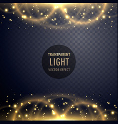 sparkling light effect glitter style background vector image vector image